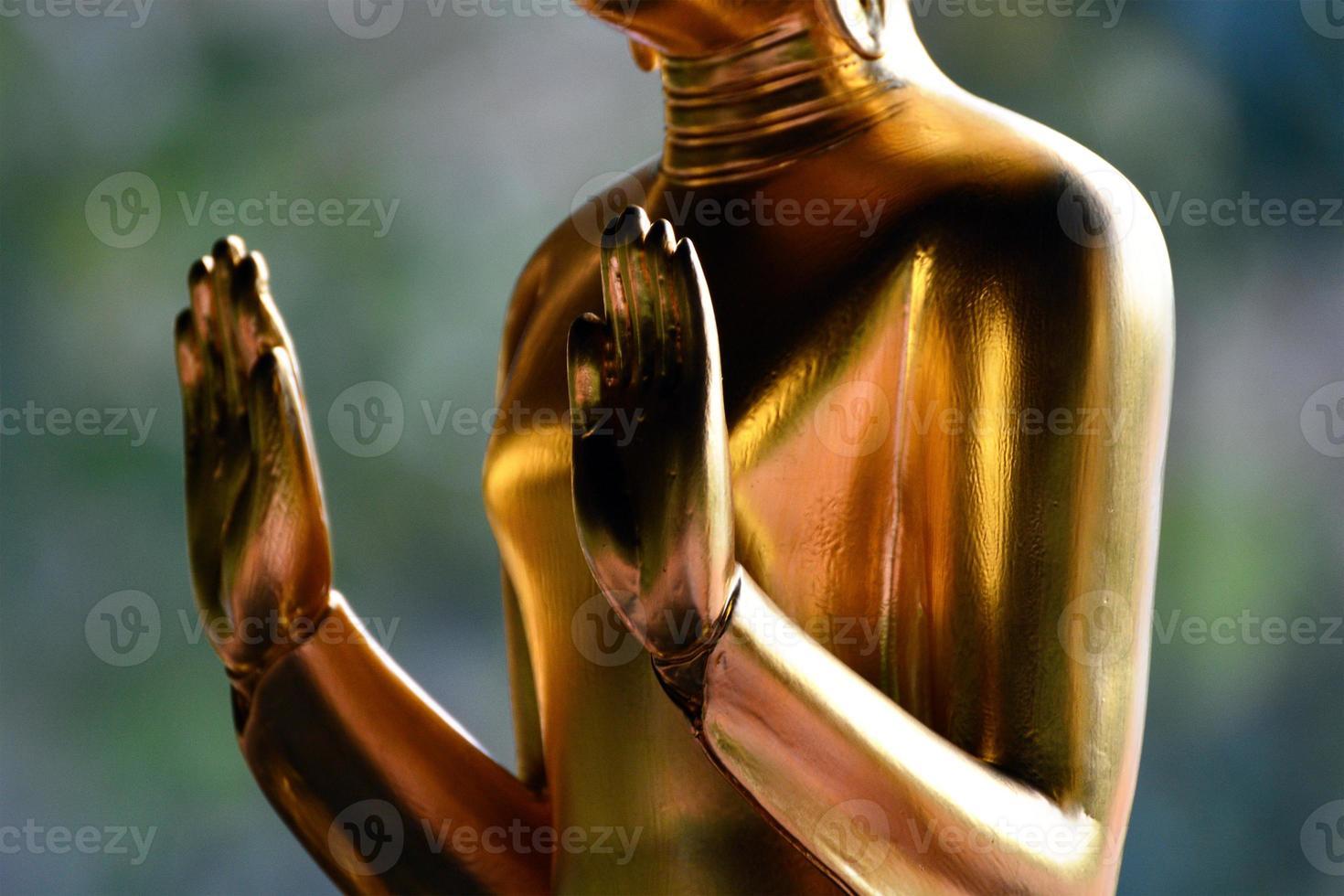 estatua de Buda tailandés foto
