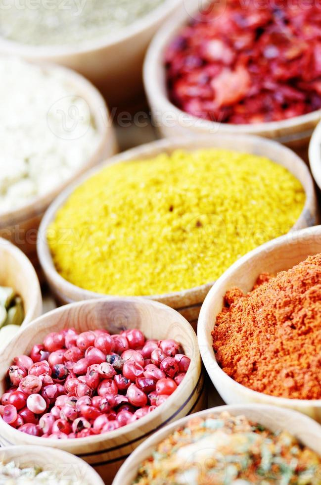 Assorted spices photo
