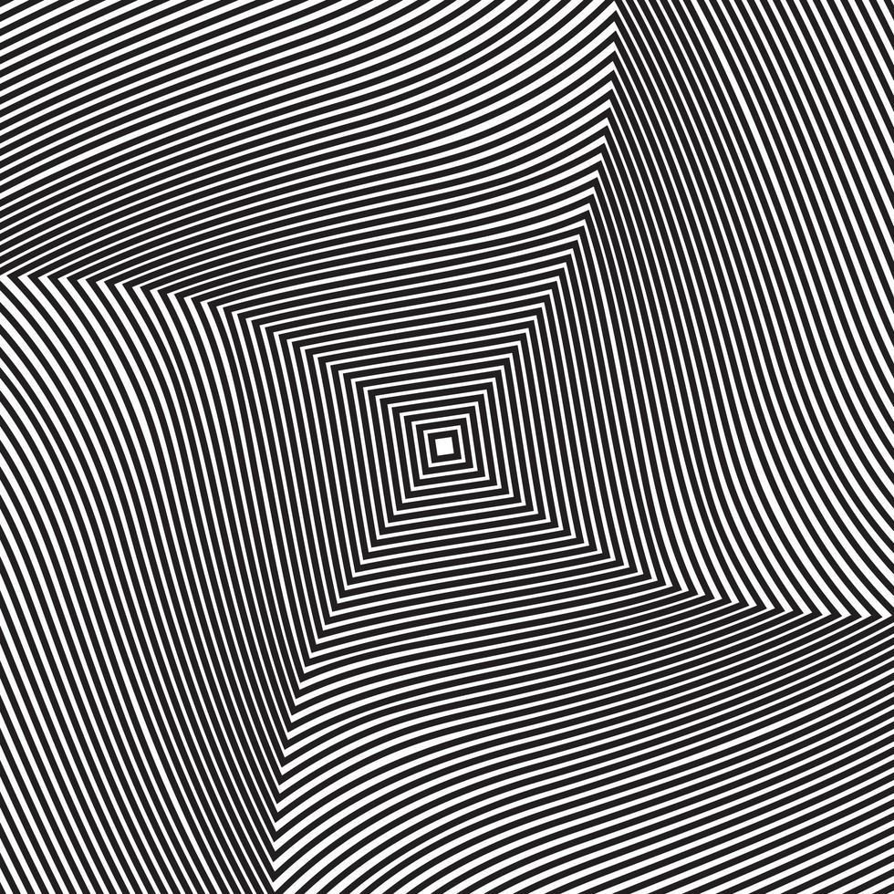 sfondo di illusione ottica vettore