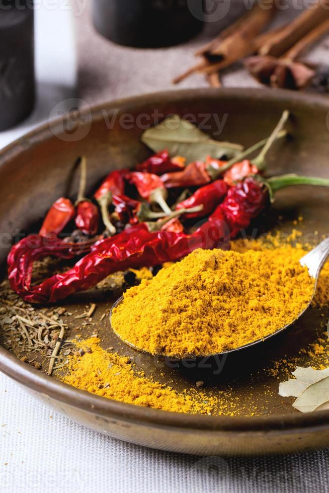 Mix of spices photo