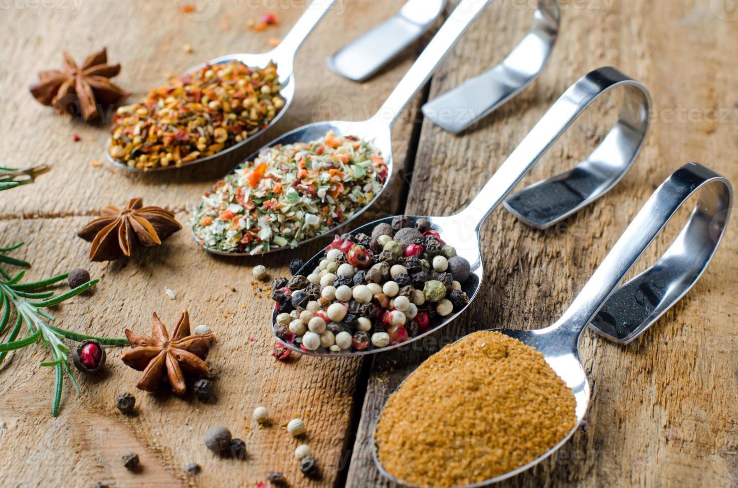 mix spices photo
