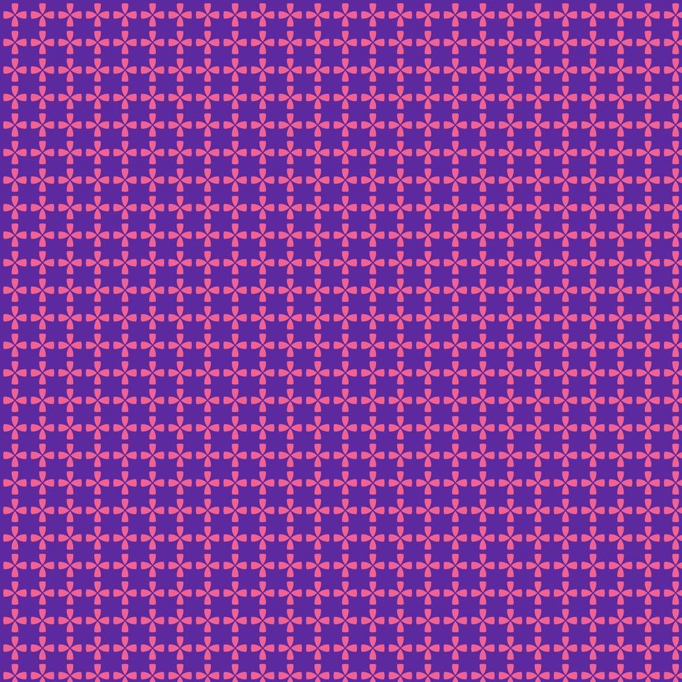 cercle géométrique et motif carré rose et violet vecteur