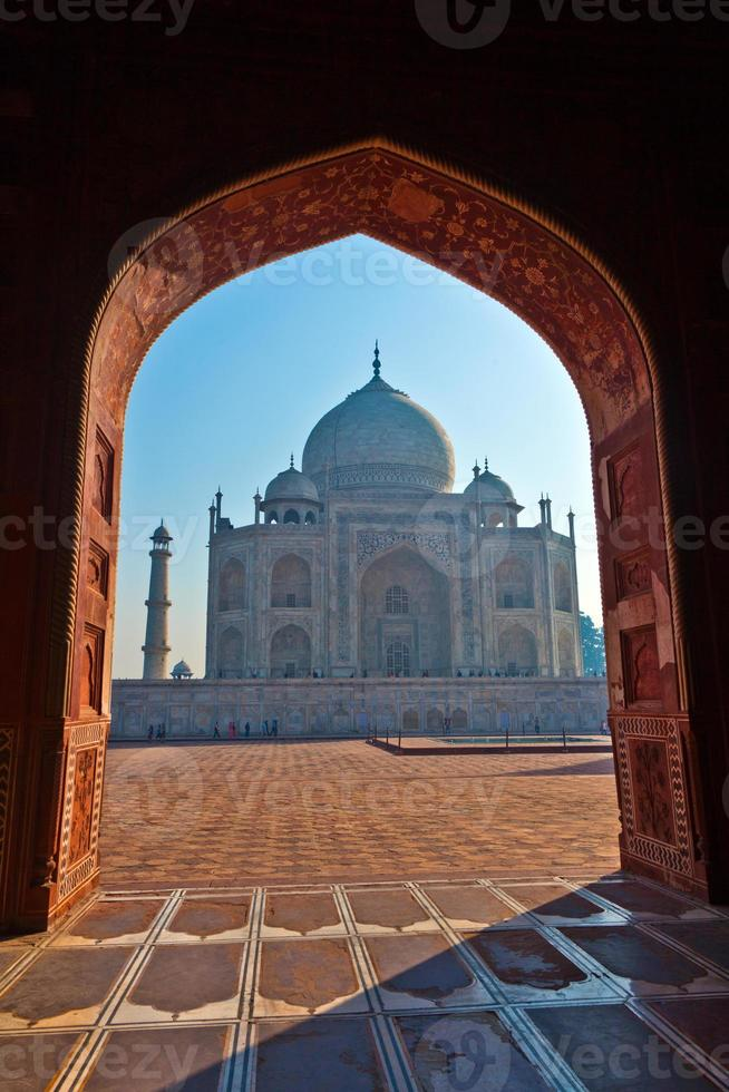 Taj Mahal en India foto