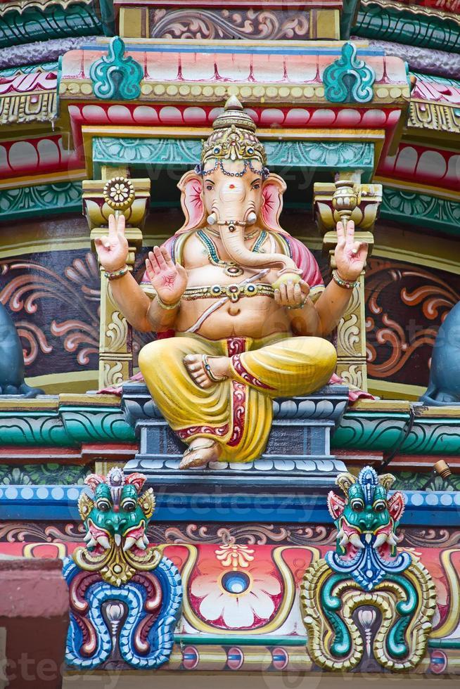 Hindu temple in Singapore photo