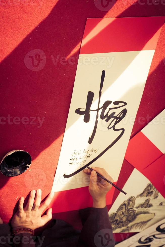 Vietnamese Calligraphy photo