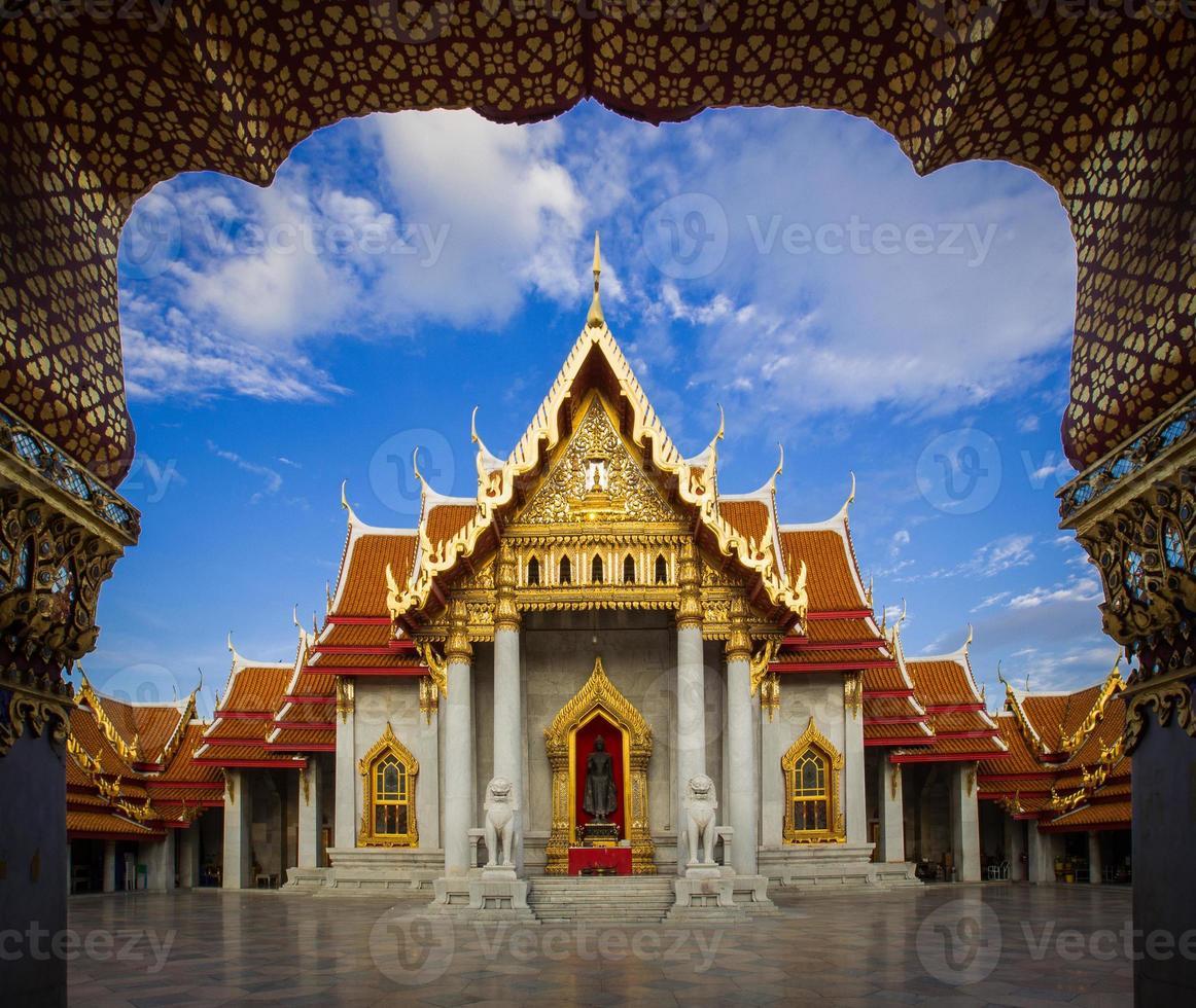 Wat Benchamabopitr Dusitvanaram,The Marble Temple photo