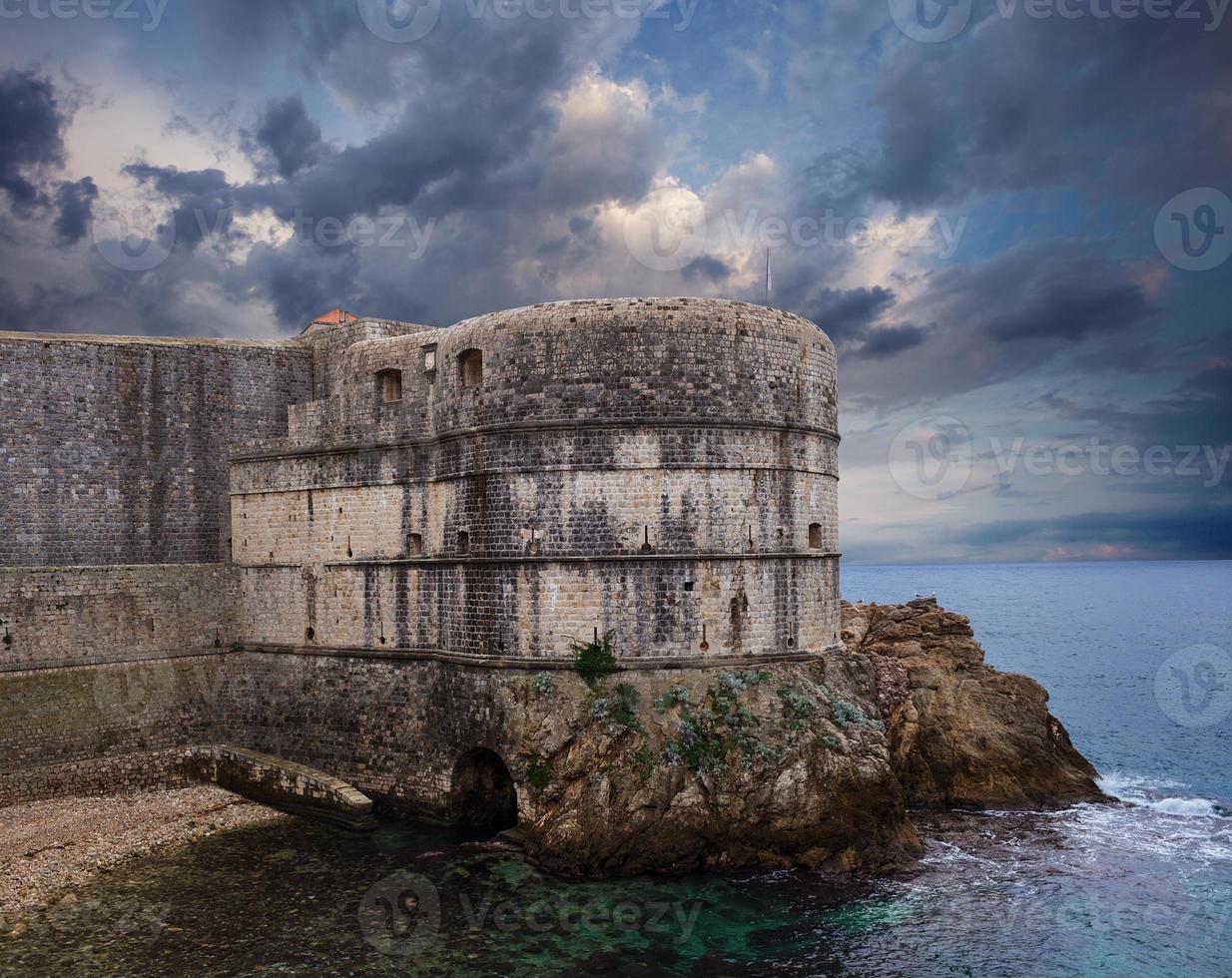 Fort Bokar. Dubrovnik. Croatia. photo
