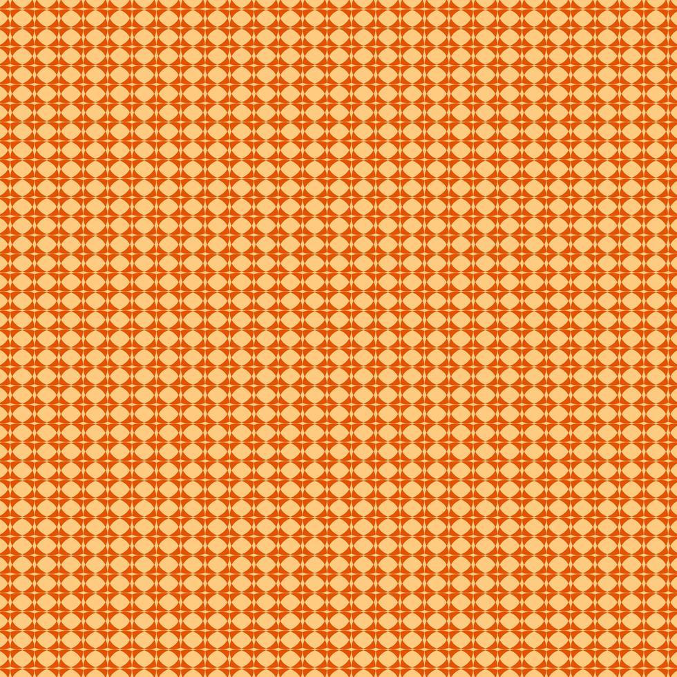 motivo a diamante astratto arancione vettore