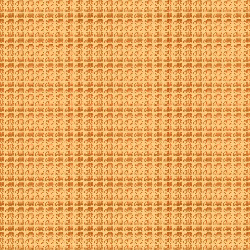 modello di camion arancione vettore