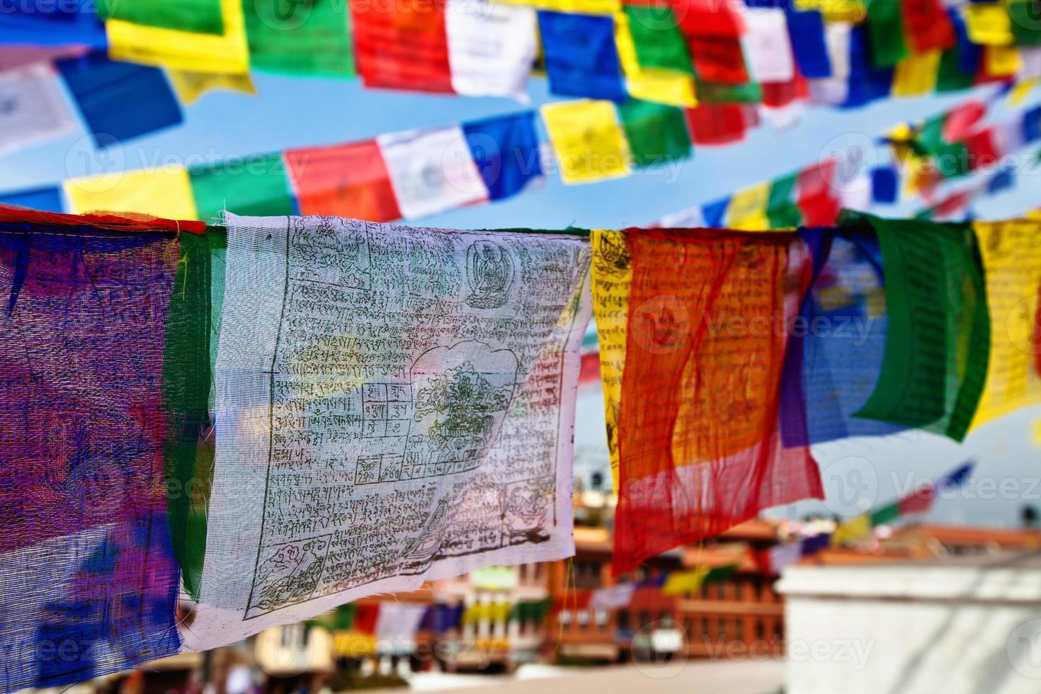 prayer flags photo