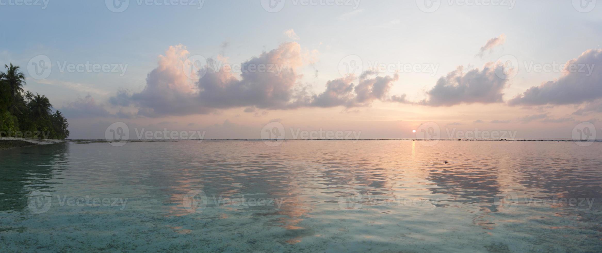 amanecer tropical foto