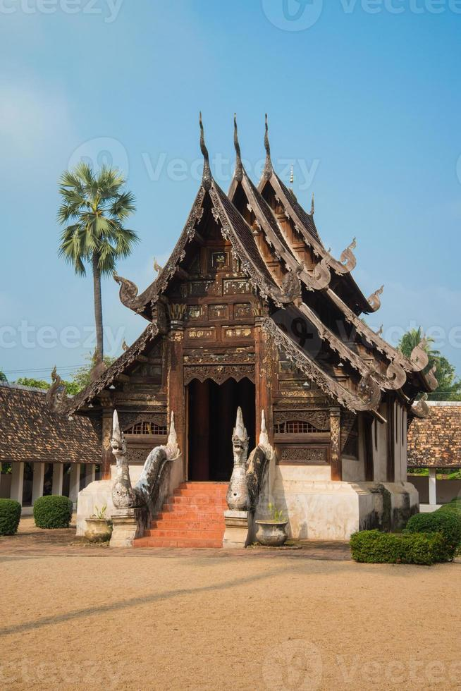 Temple in Chiang Mai, Thailand. photo