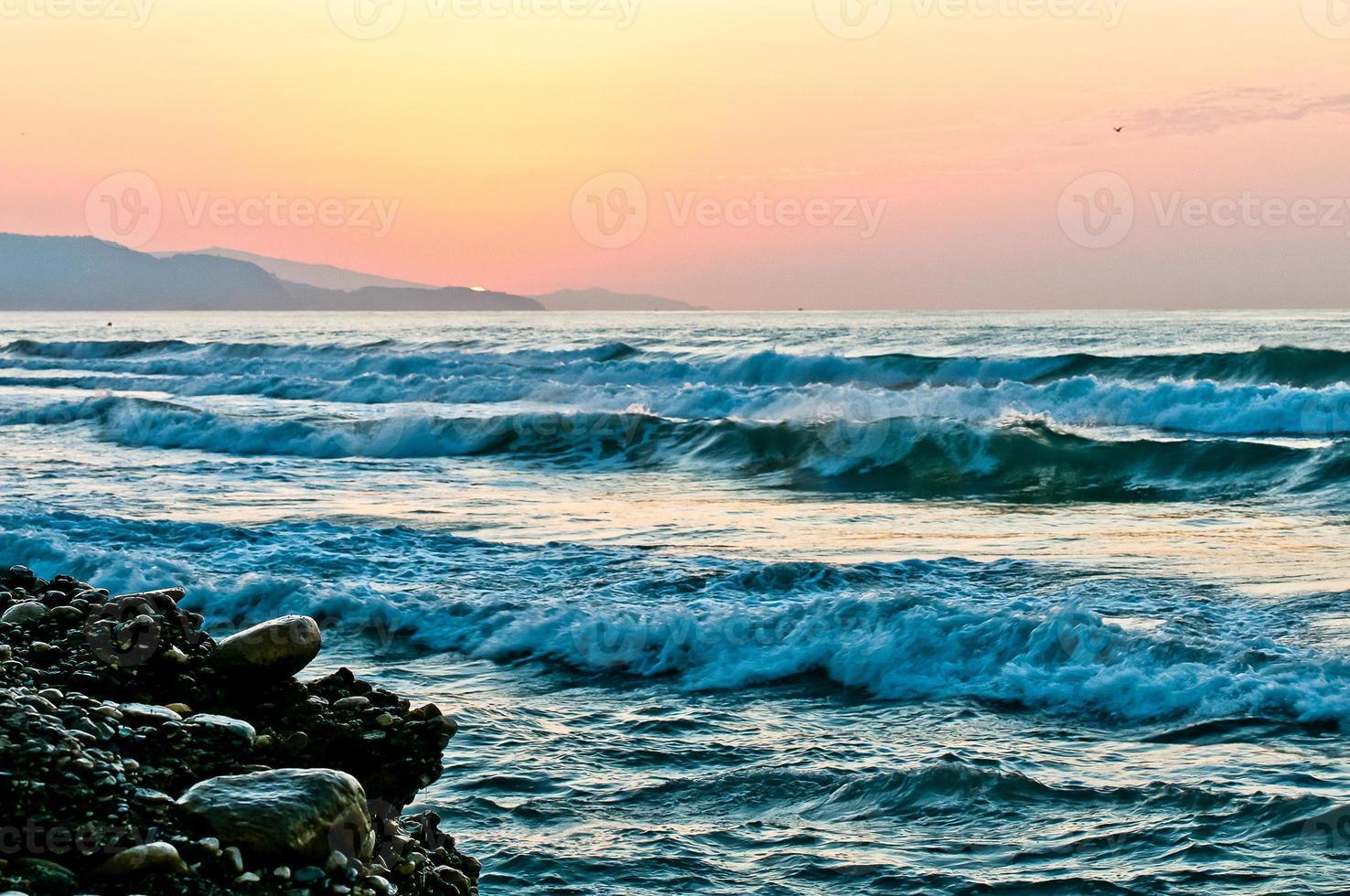 Idyll at the sea photo