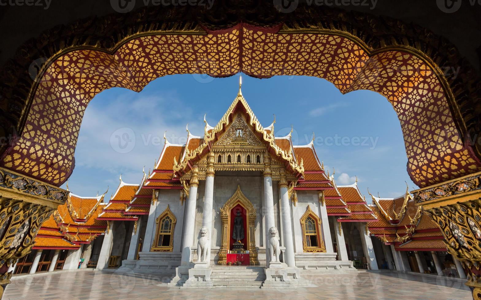 templo de mármol foto
