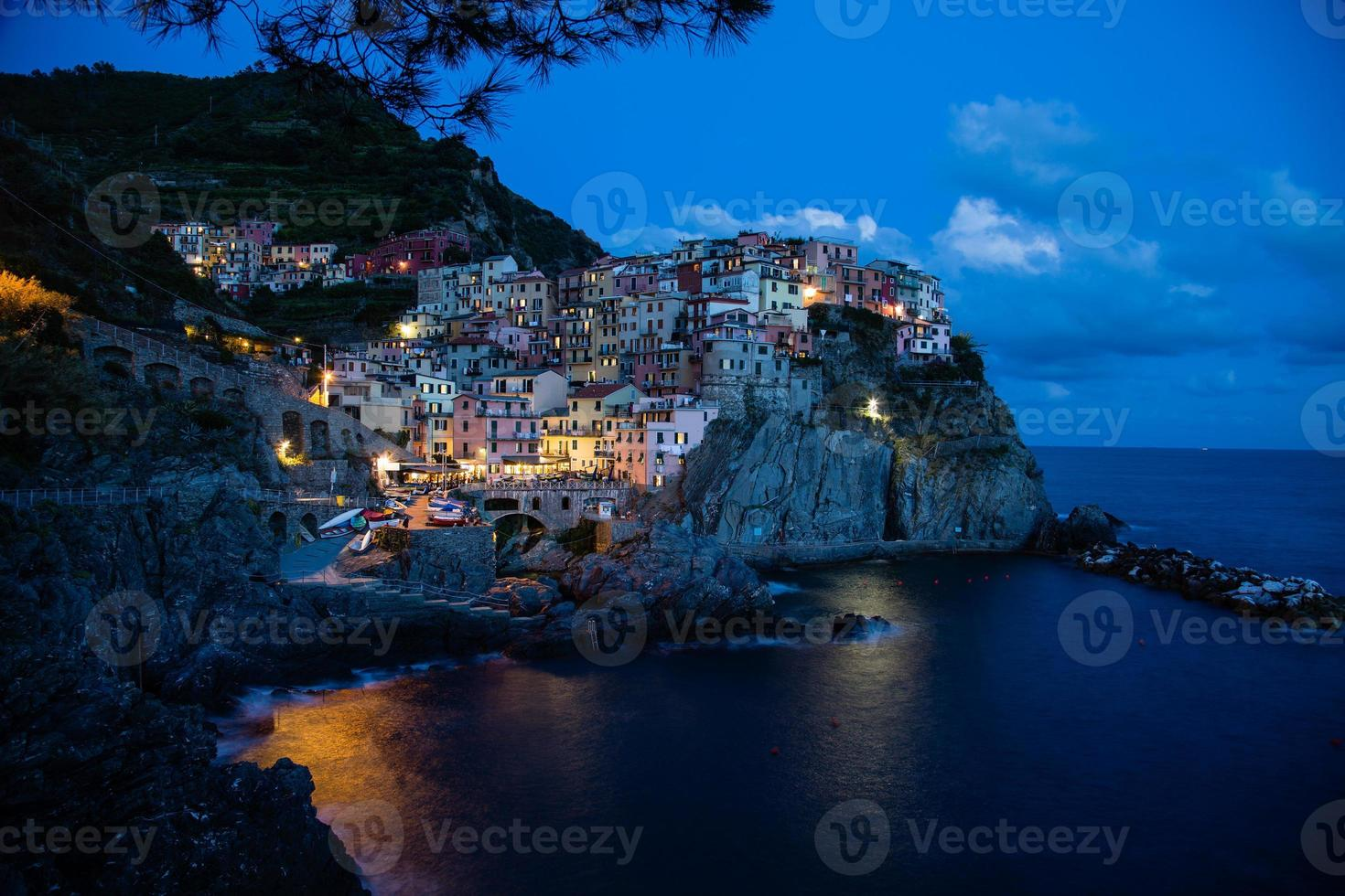 manarola- italia (cinque terre- patrimonio mundial de la unesco) foto