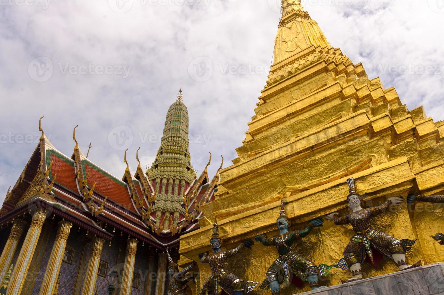 Thai temple photo