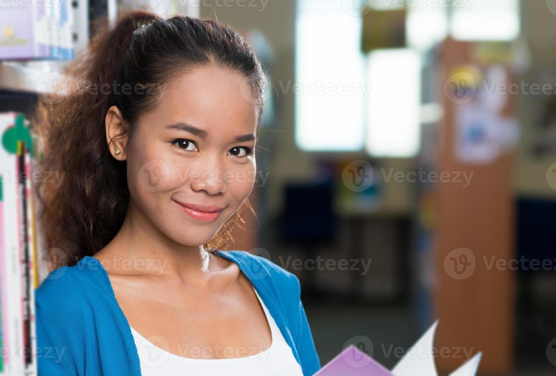 Pretty student photo