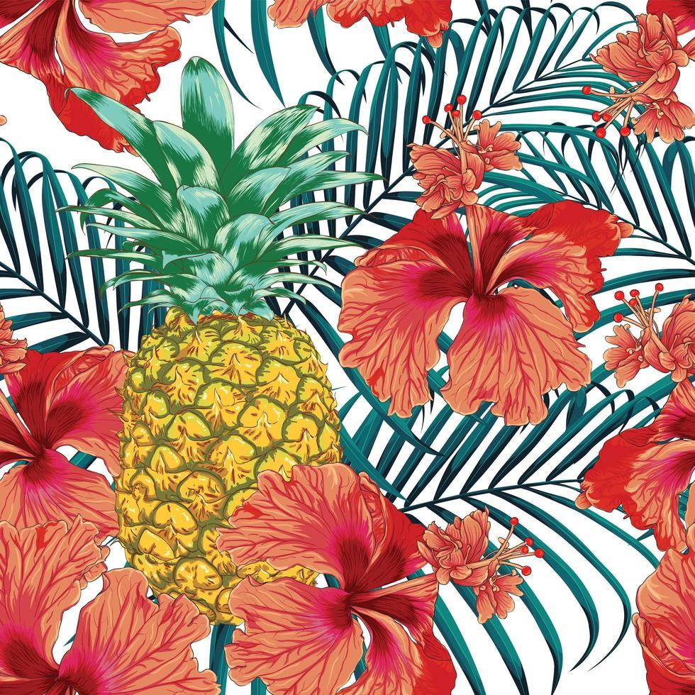 estate tropicale senza cuciture vettore
