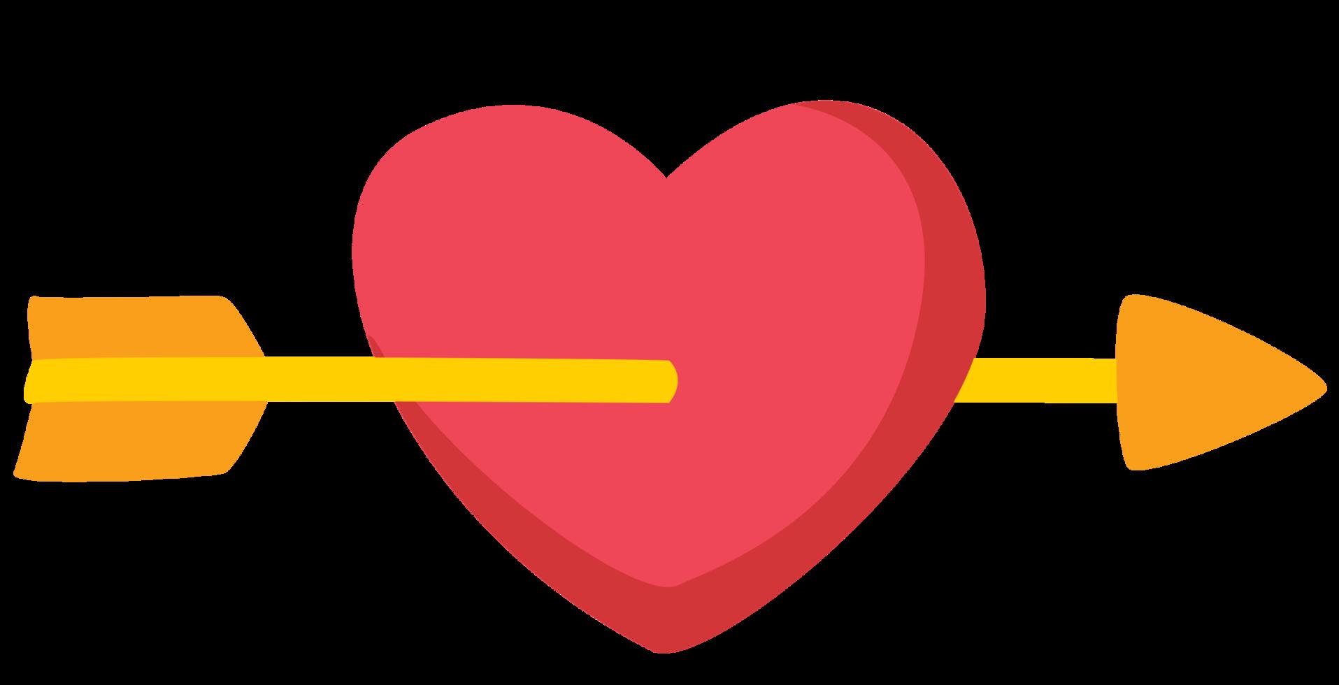 freccia del cuore png