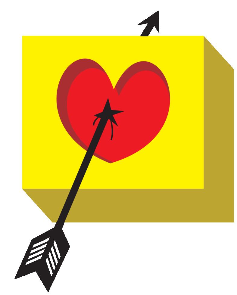 Pfeil durch das Herz png