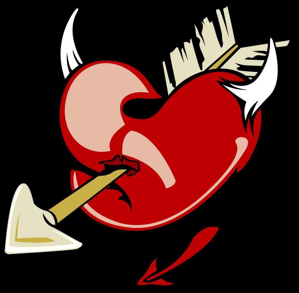 hart tatoeage png