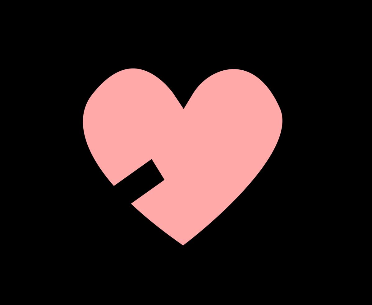 hart pictogram pijl png
