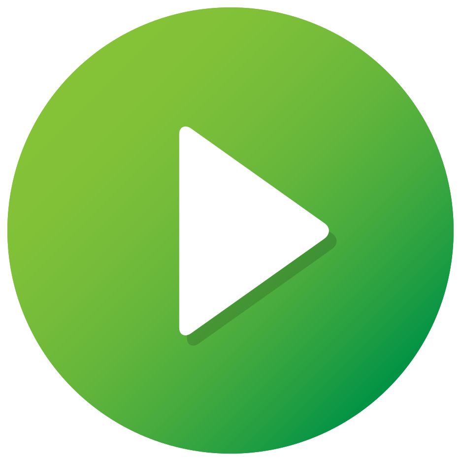 Green Play Button png