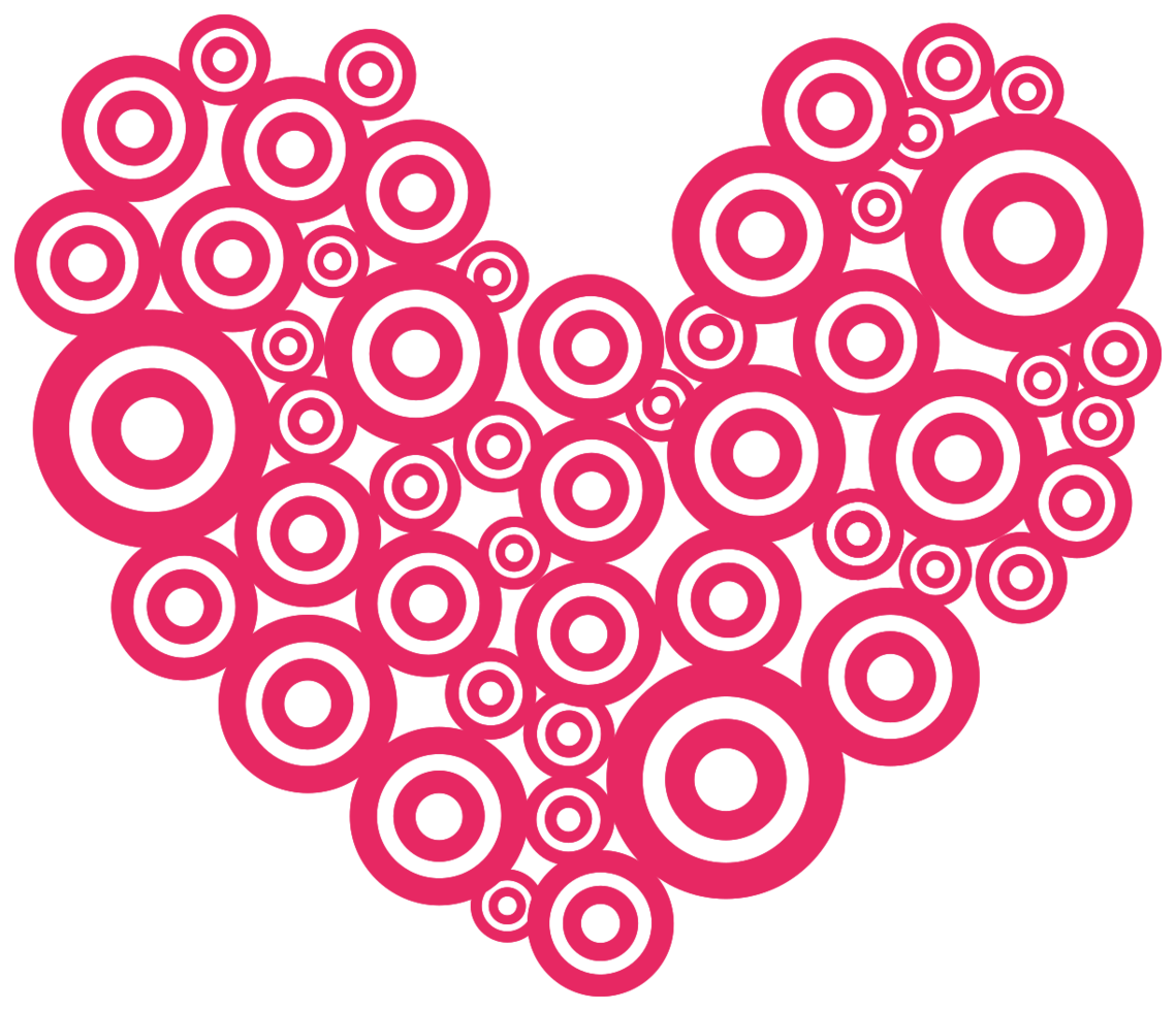 cuore layout cerchio png