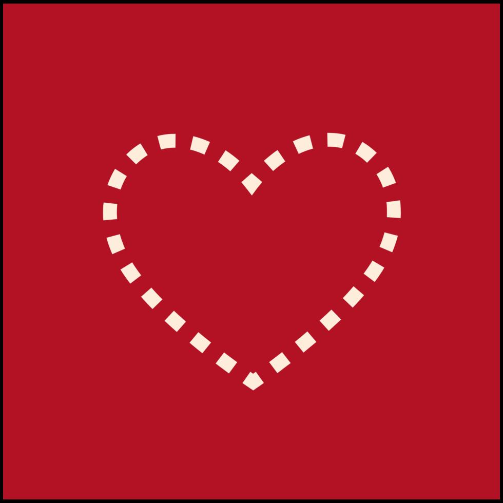 hart eenvoudig pictogram png