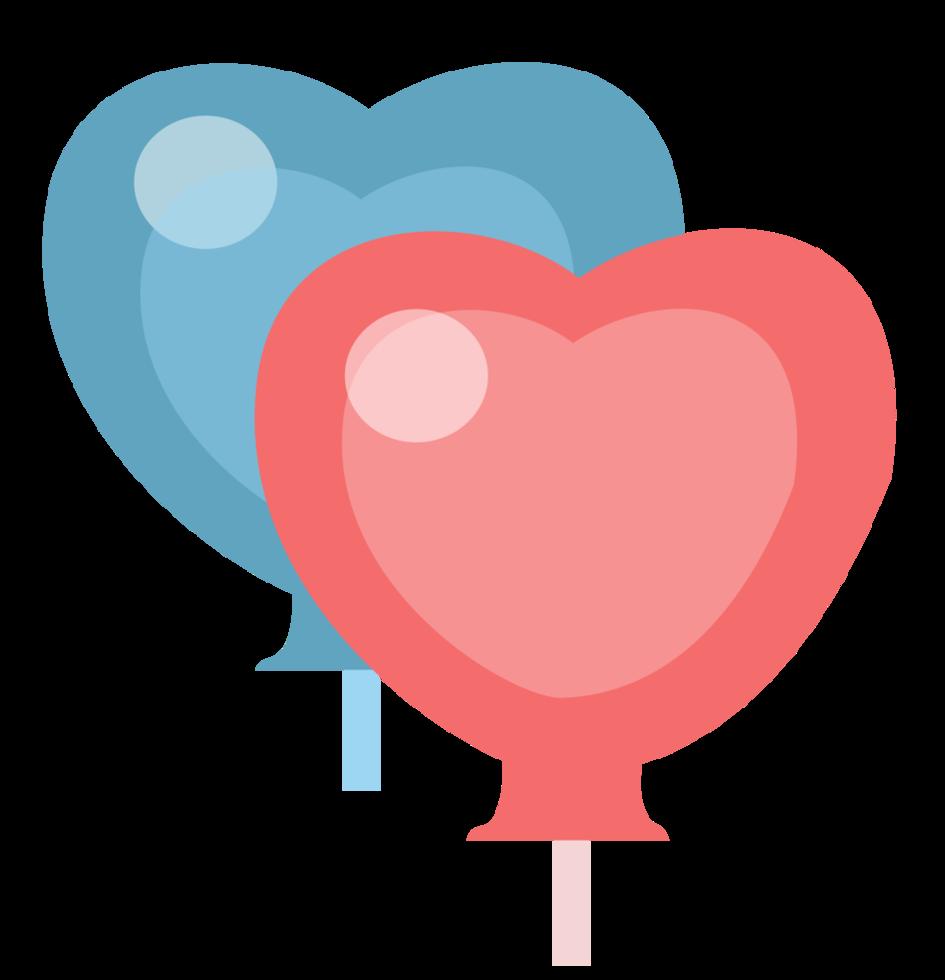 Herzballon png