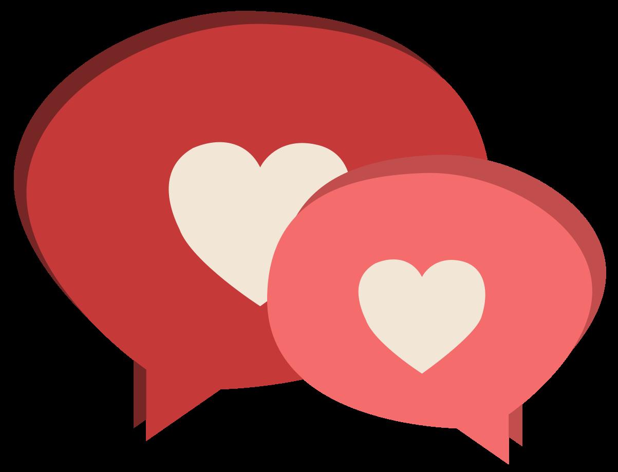 chat de corazón png