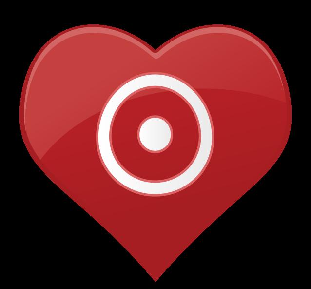 Herzsymbol Ziel png