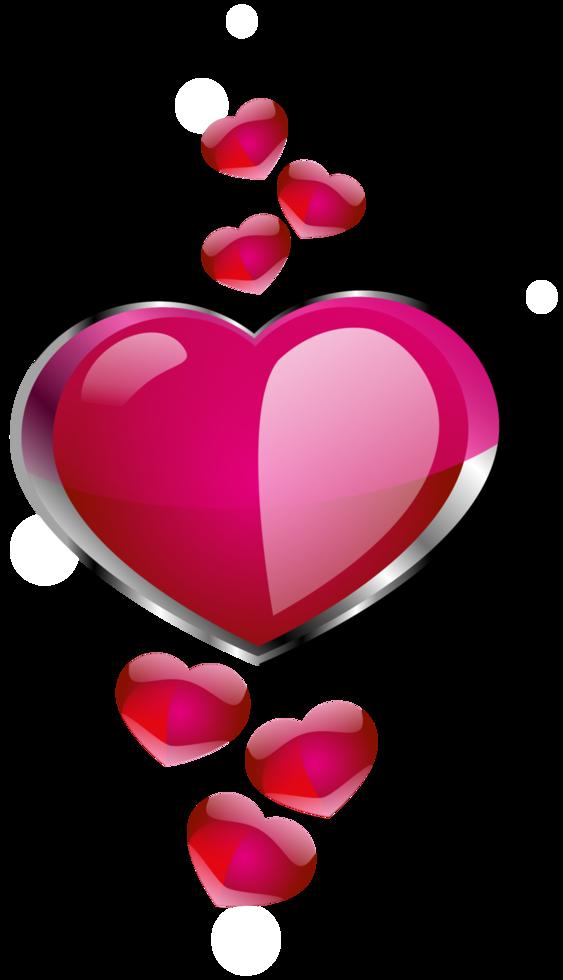 Heart pendant png