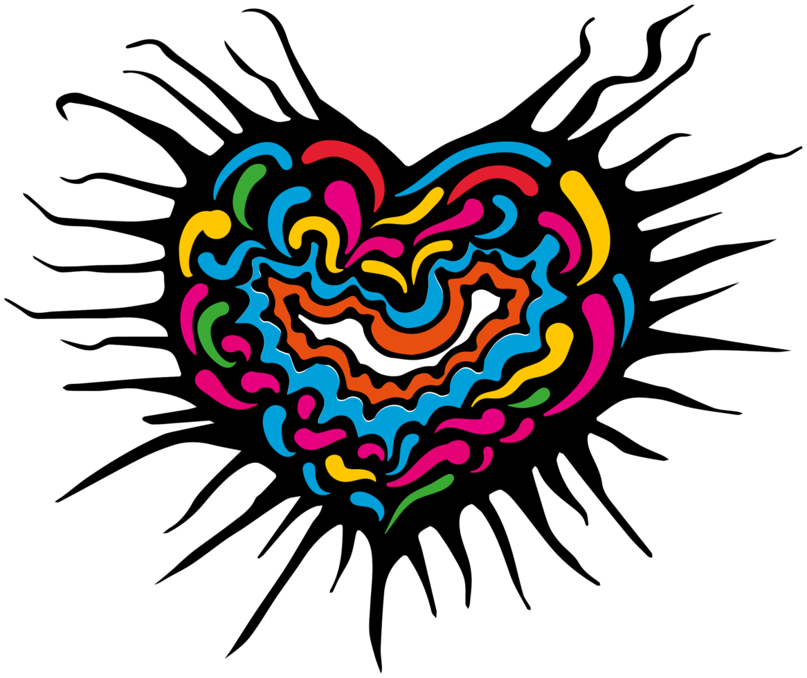 Heart abstract png