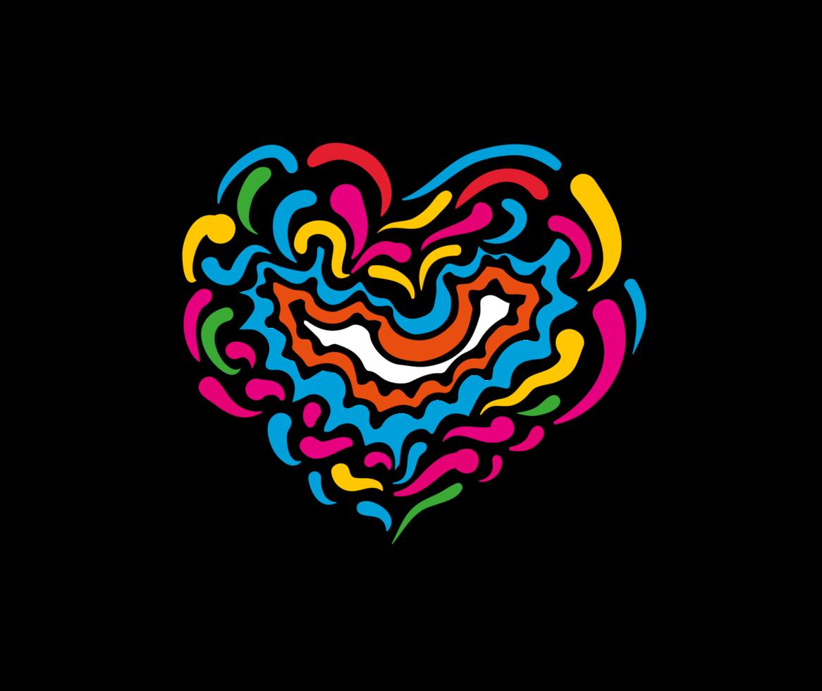 resumo do coração png