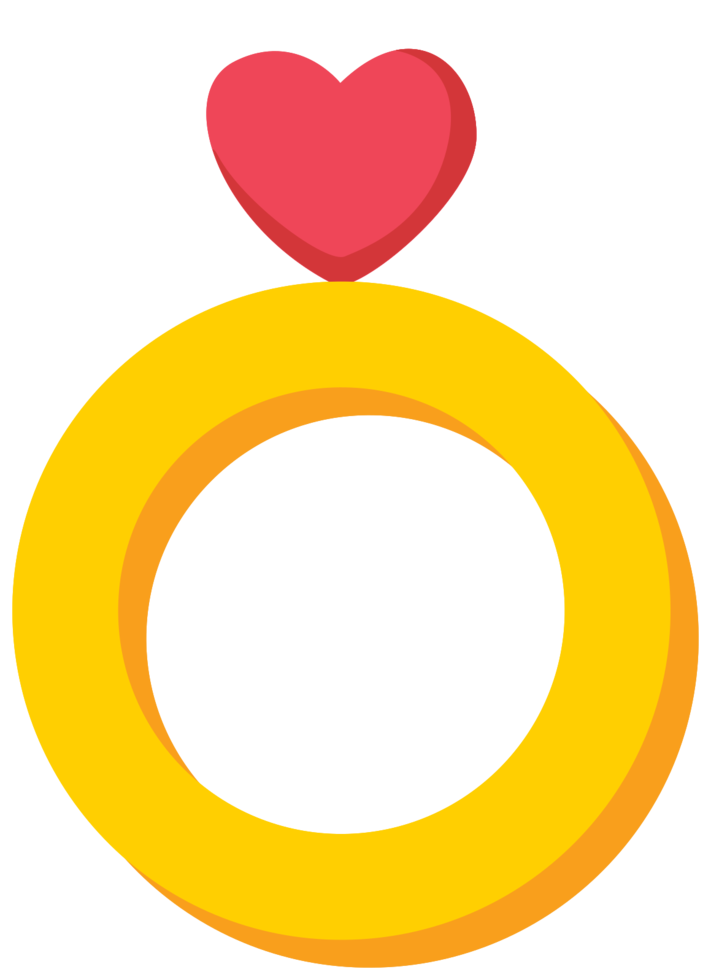 Heart ring png