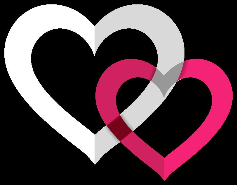 corazón combinar png