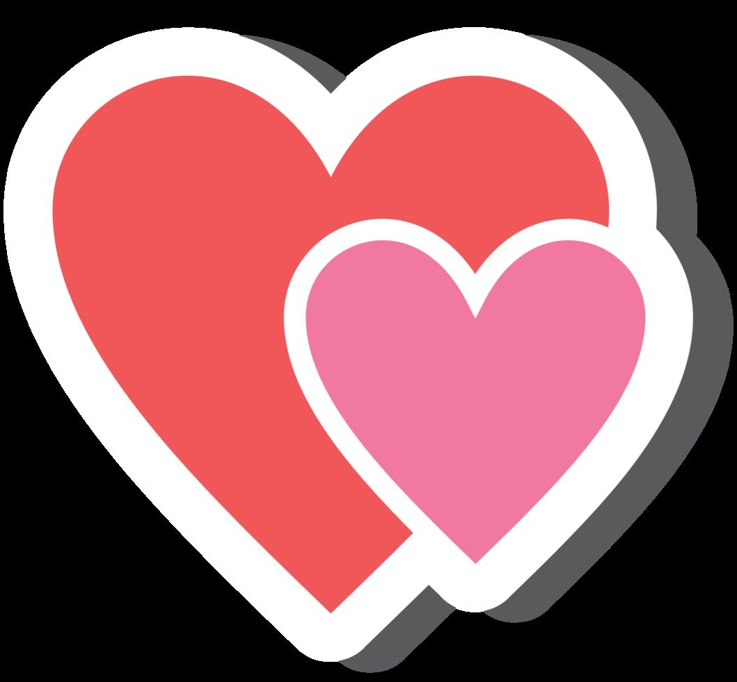 Heart sticker png