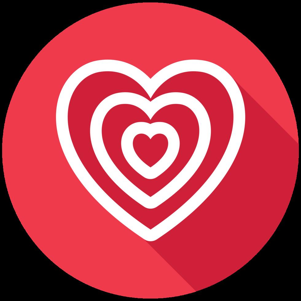 espiral del corazón png