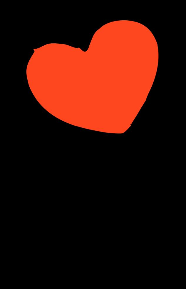 Heart ballon png