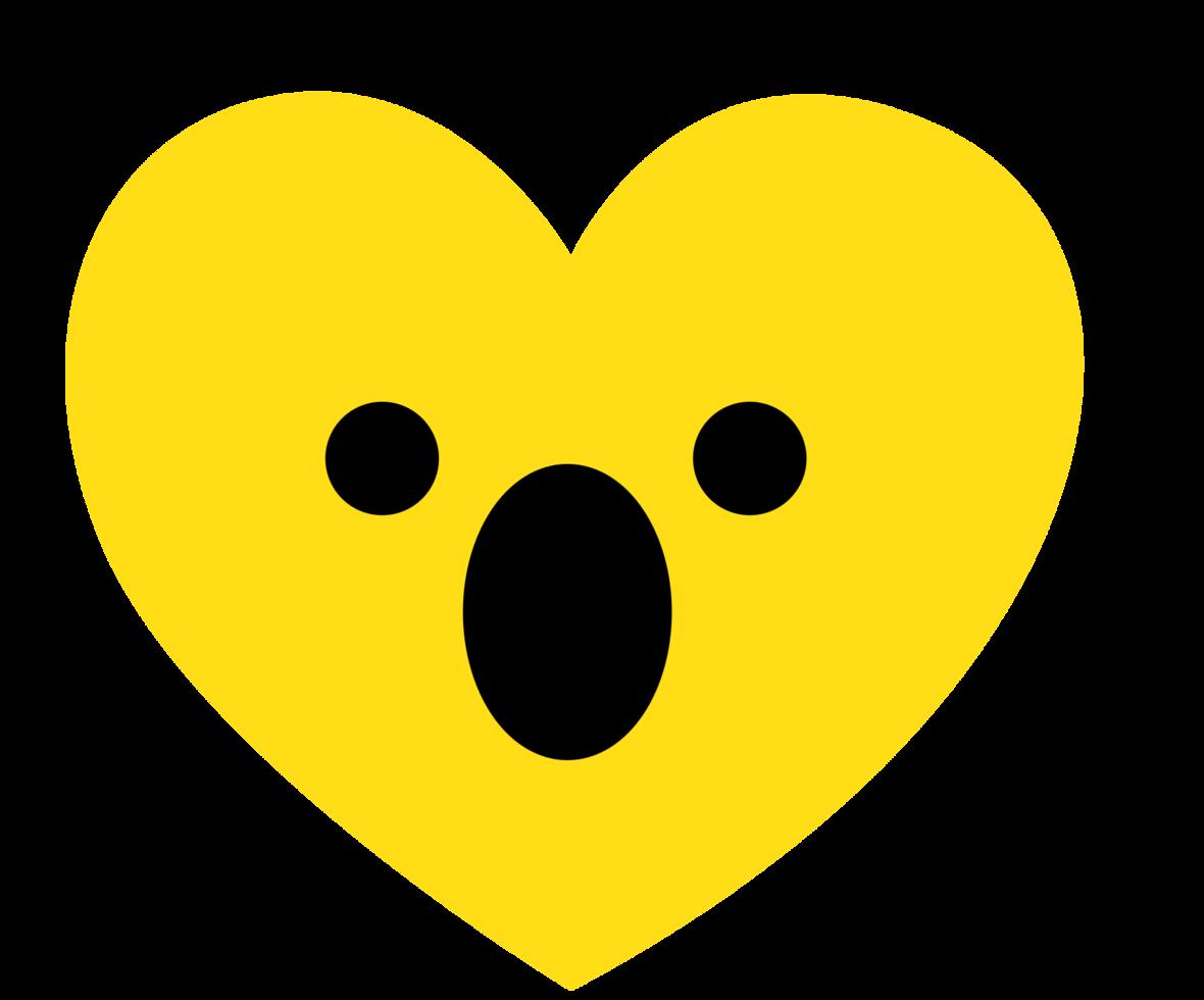 cuore emoji sussulto png