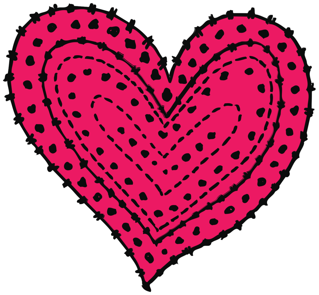 Heart sketch png