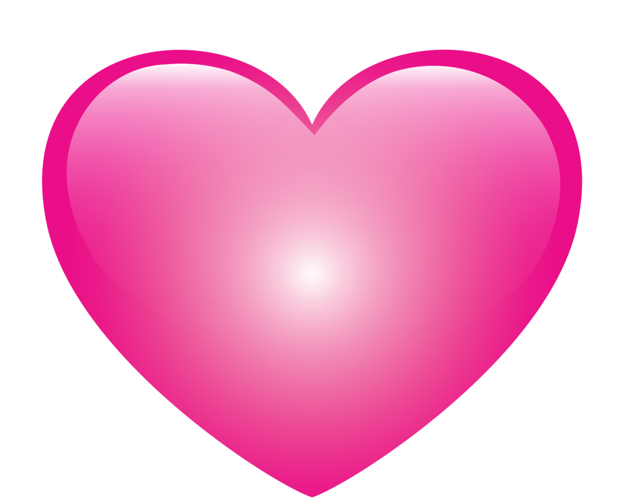 Heart glossy png