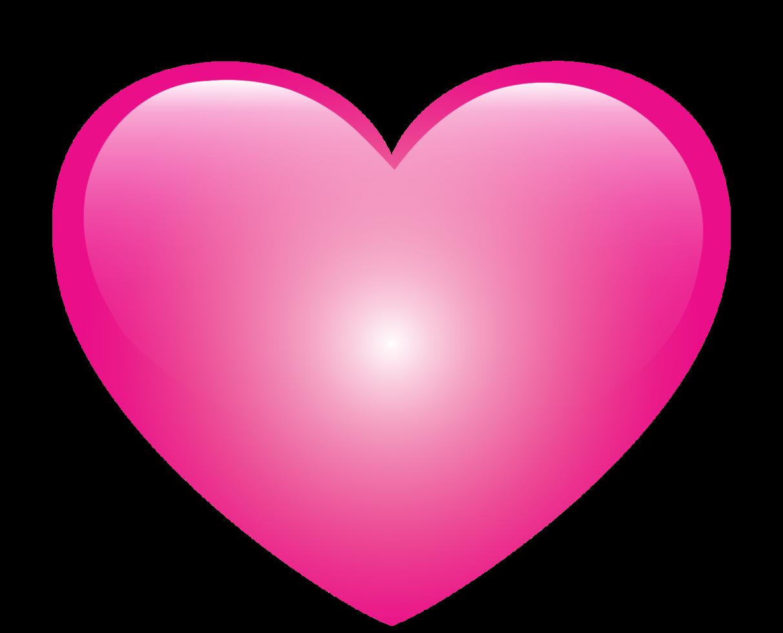 corazón brillante png