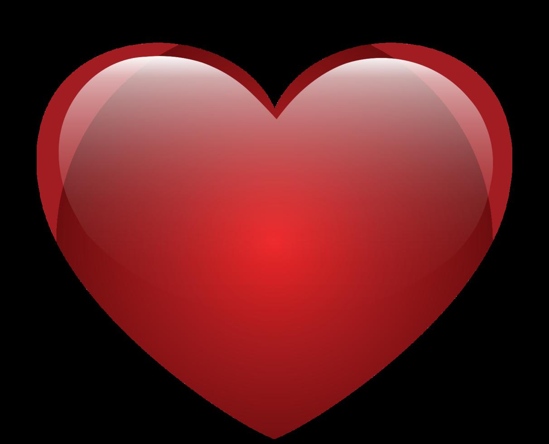 coração brilhante png