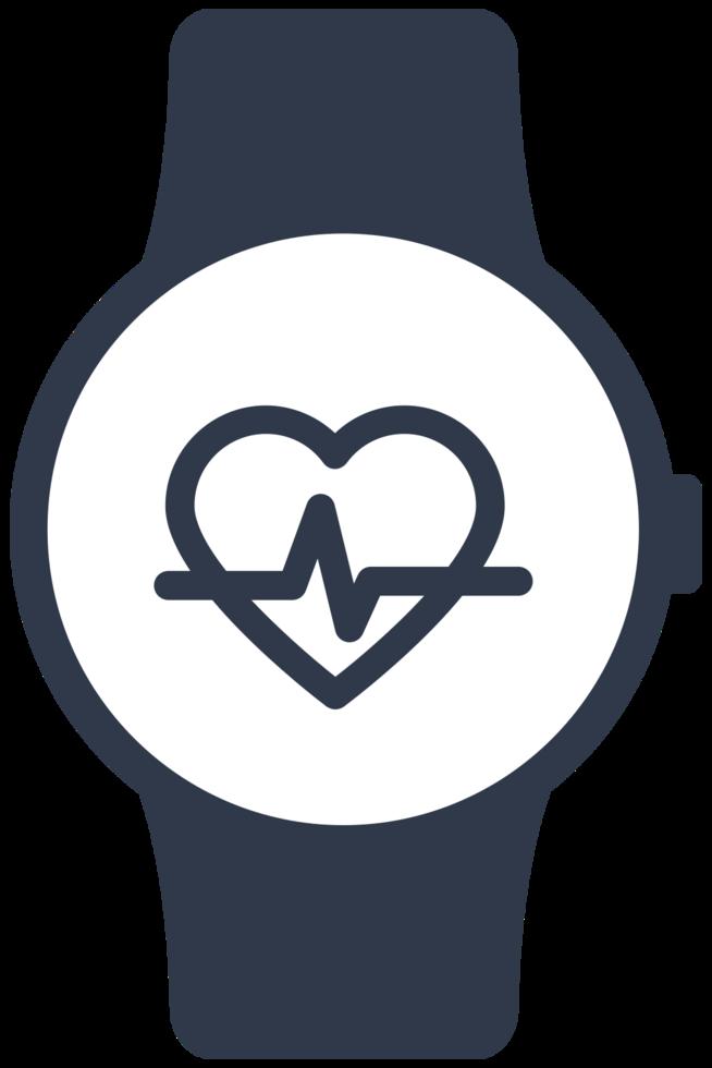 montre moniteur cardiaque png