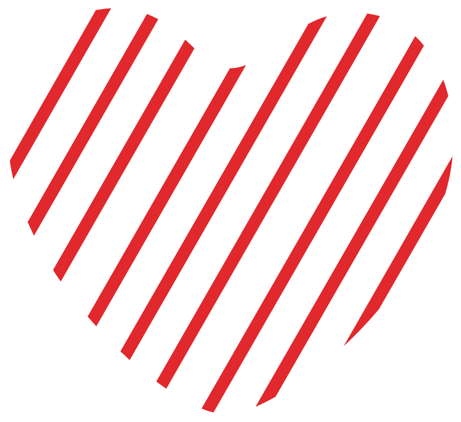 Heart with pattern png