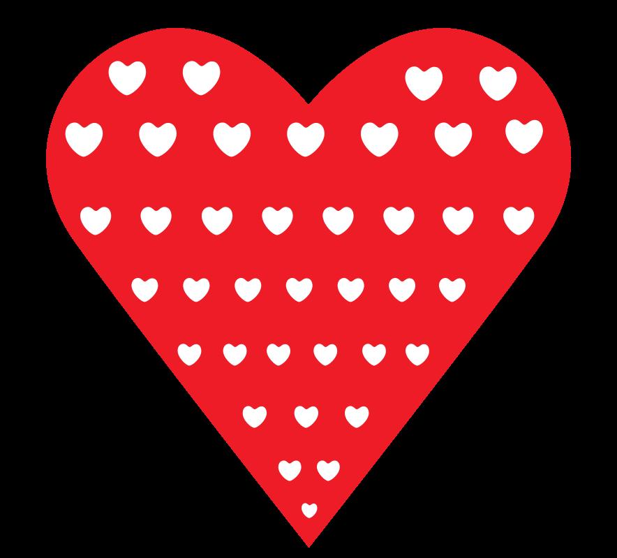 cuore con motivo png
