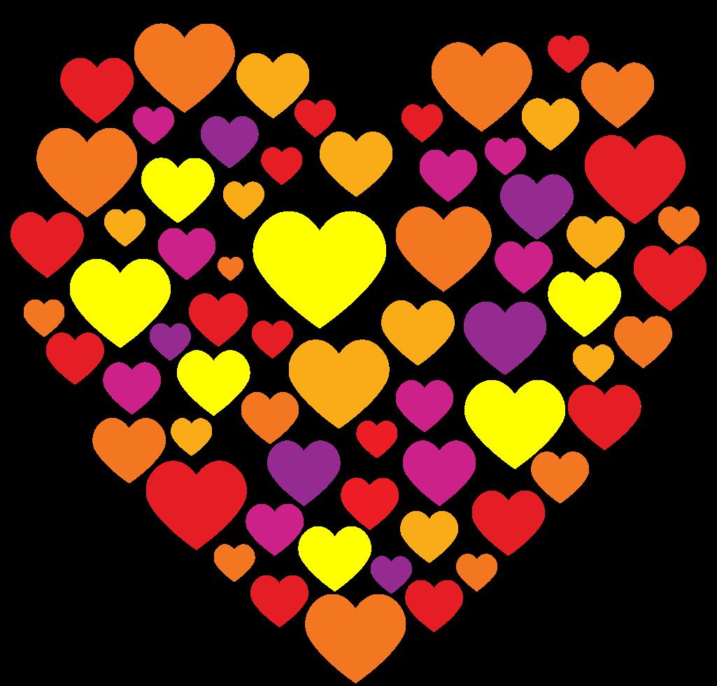 composição do coração png