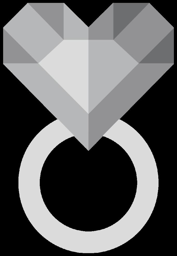 Herz Diamant png